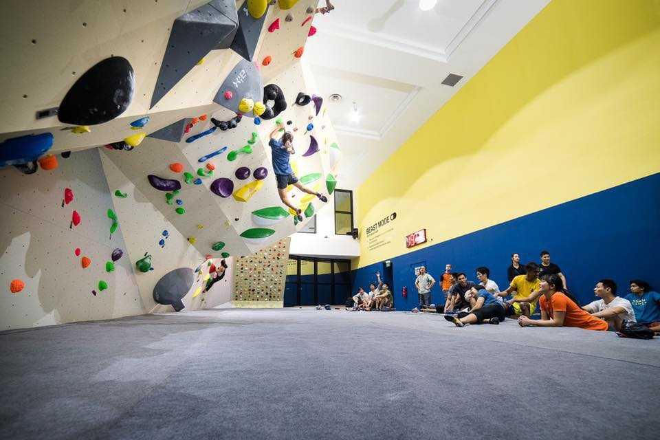 Fit Bloc, Rock Climbing in Singapore