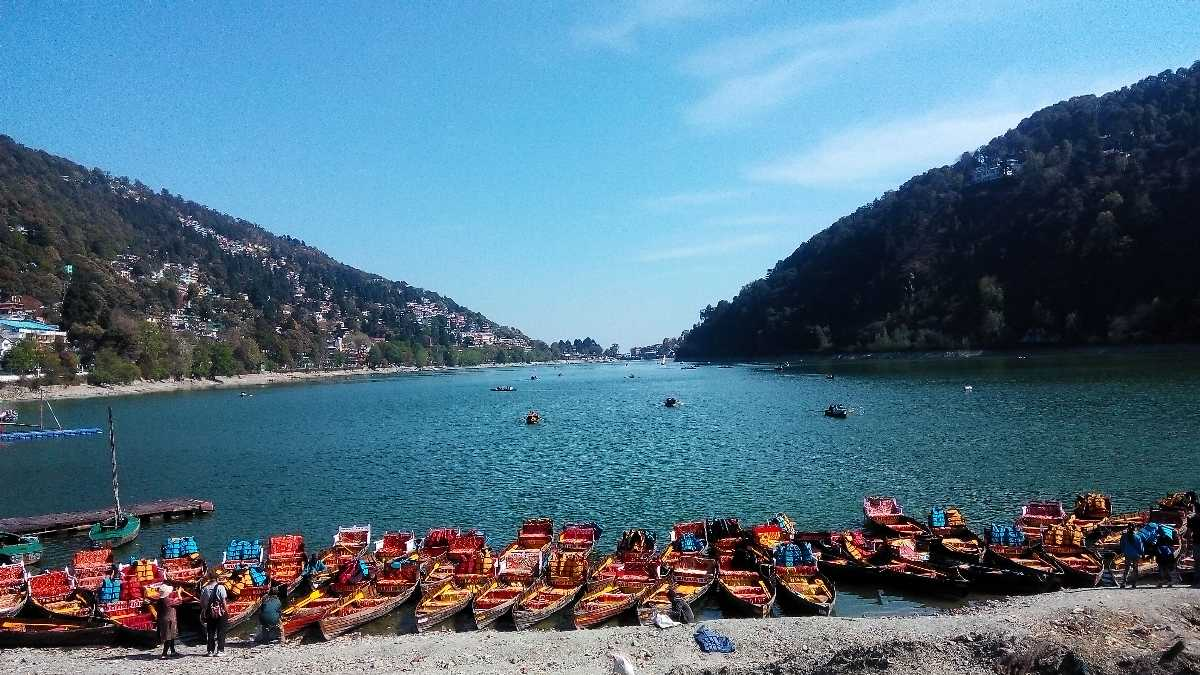 Nainital Lake in Summer