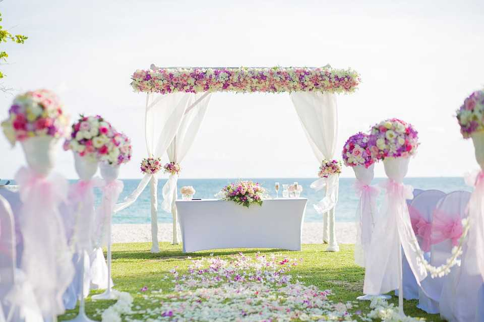 Floral Archway, Wedding resorts in Seychelles