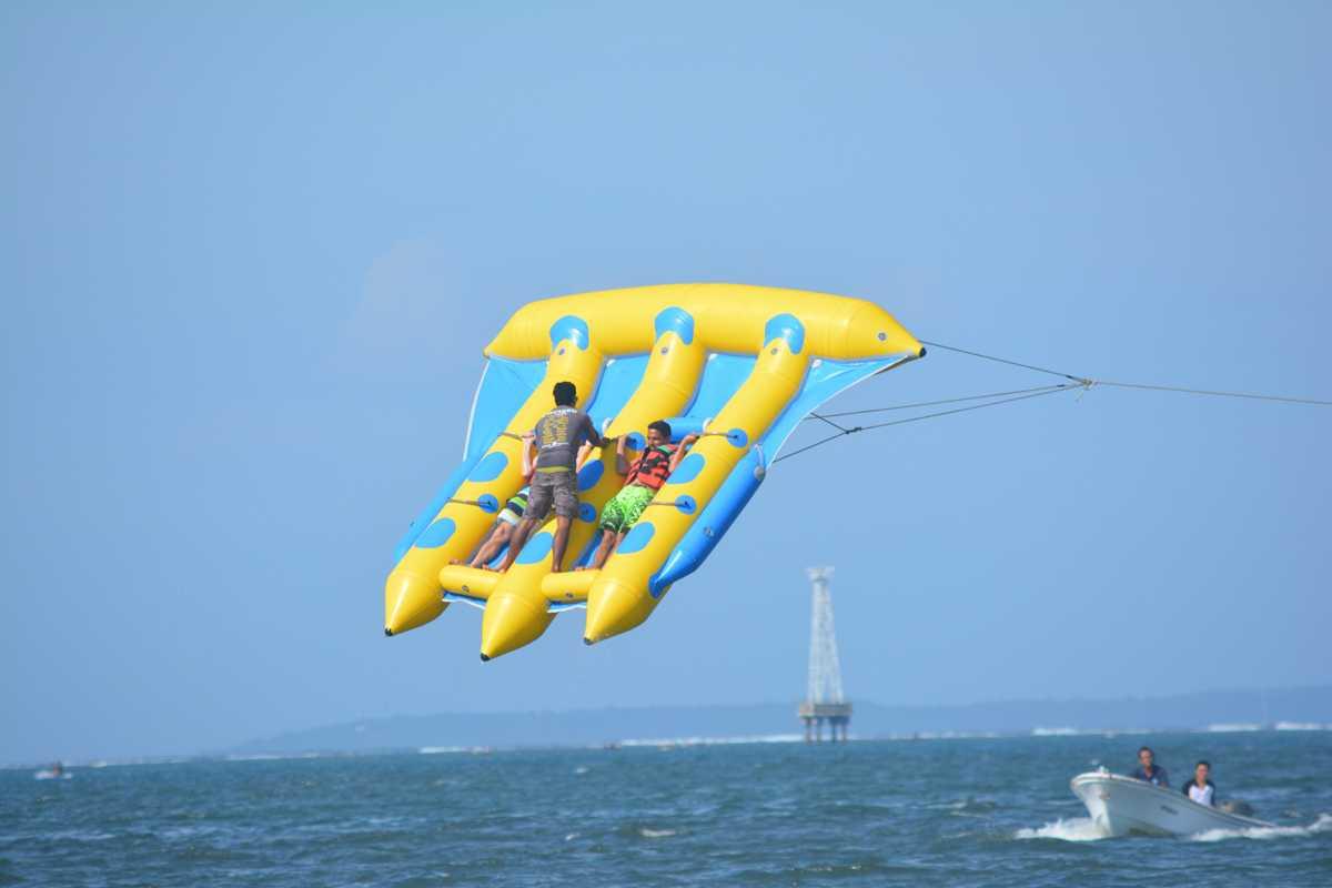Flying fish, Adventure Activities in Bali