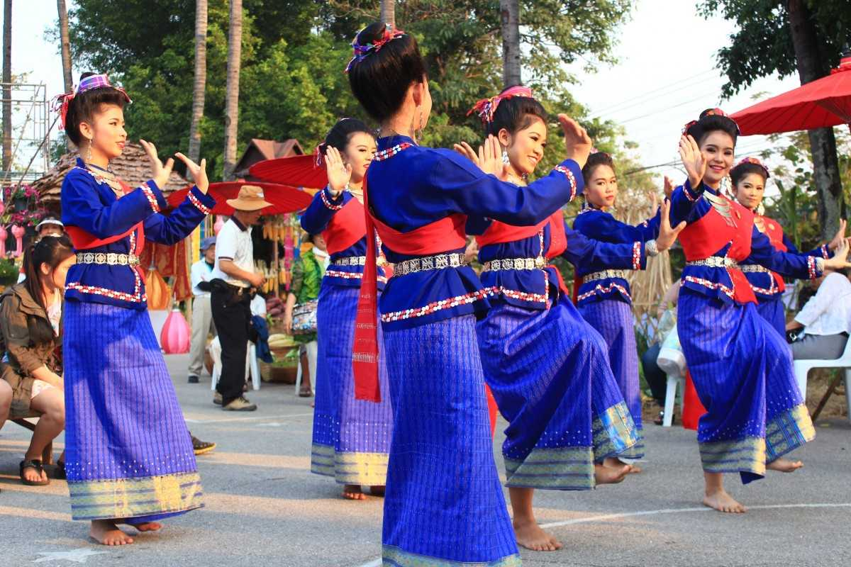 Folk dance of Thailand