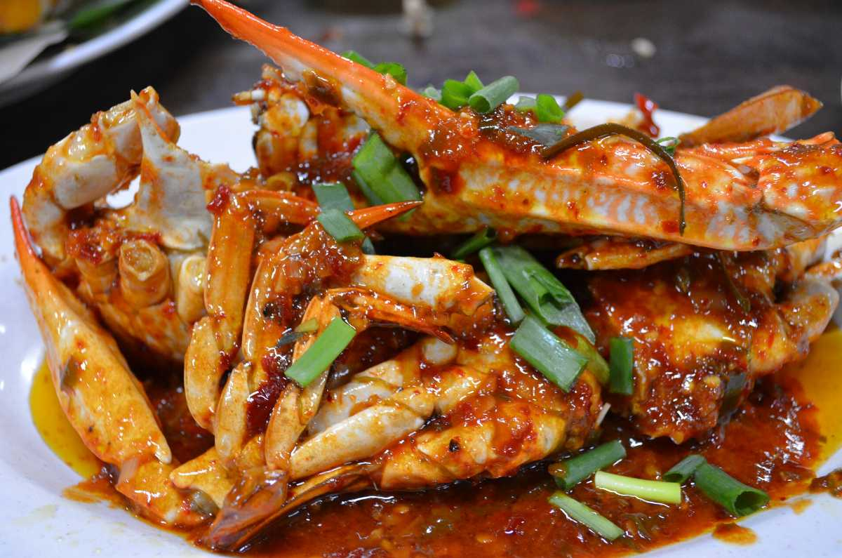 Crabs, Street food in Singapore