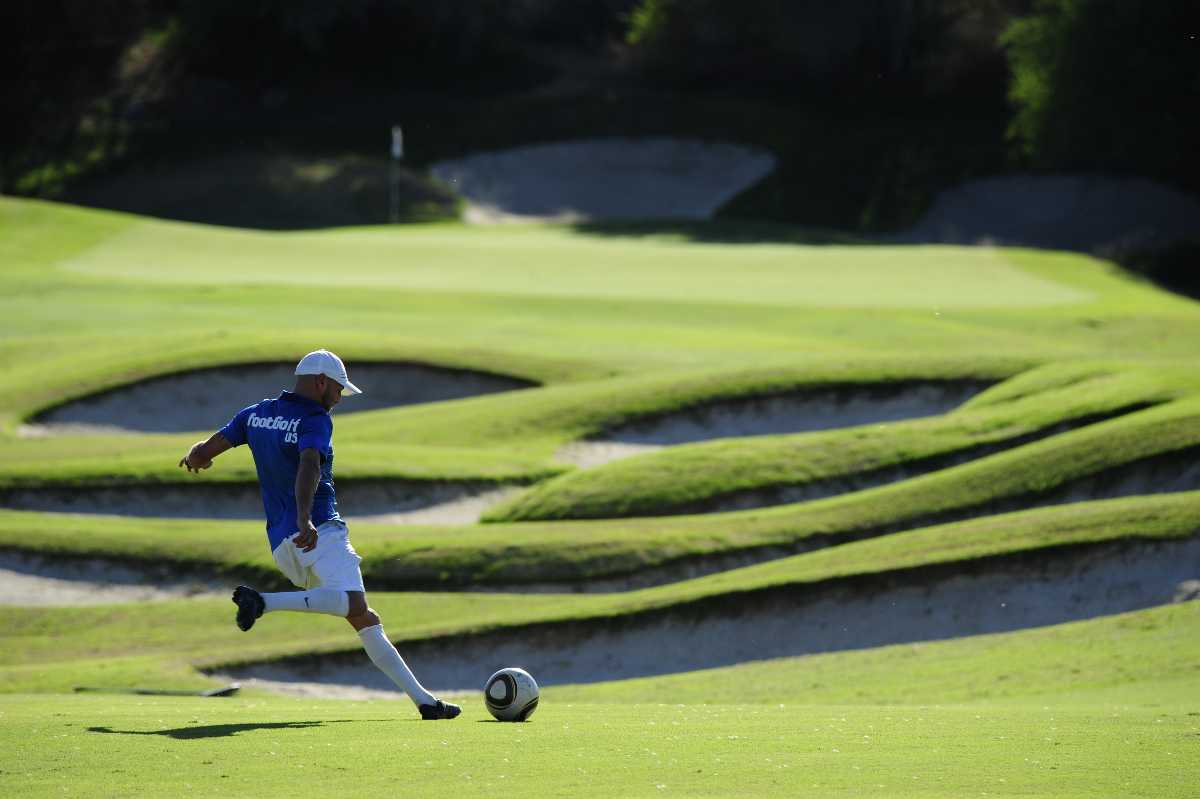 Things to do in Koh Samui with kids, footgolf