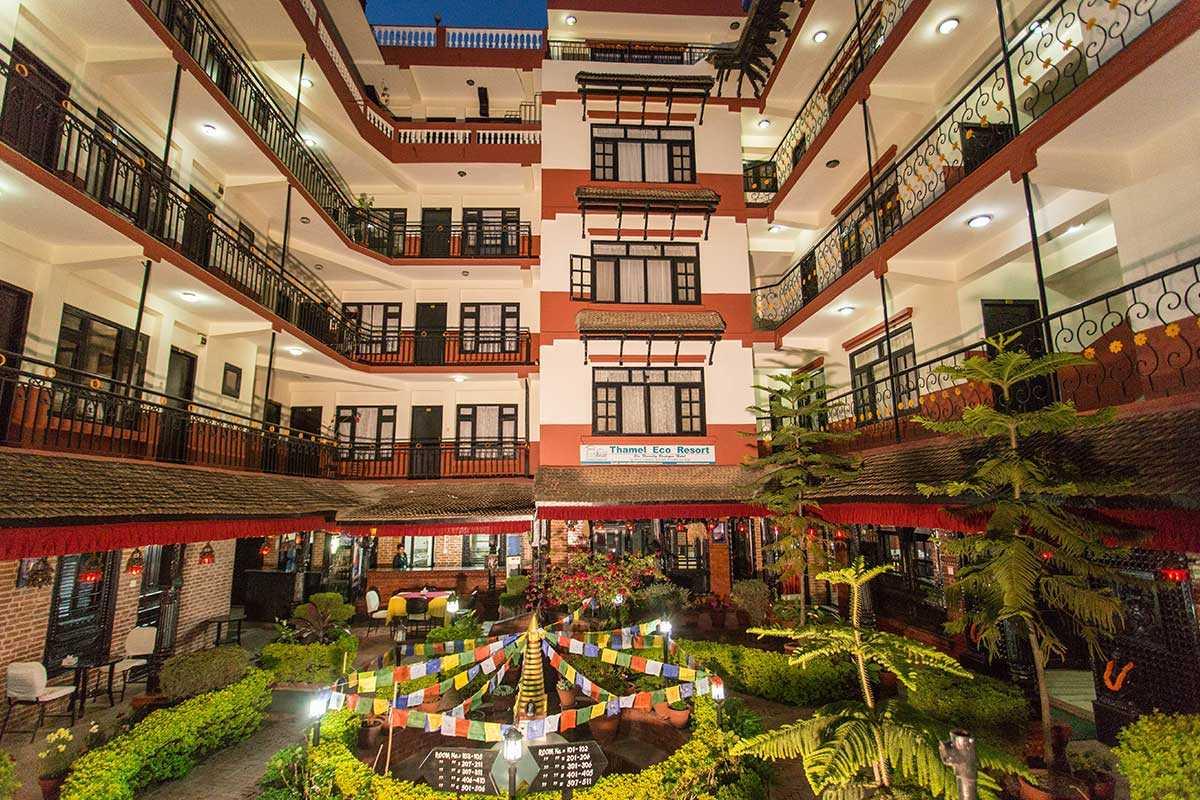 Eco Resort in Thamel for honeymoon in Nepal