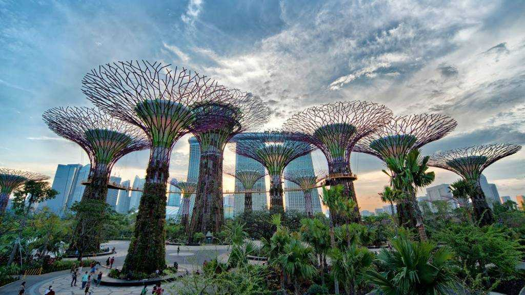 Gardens by the Bay, Singapore with kids