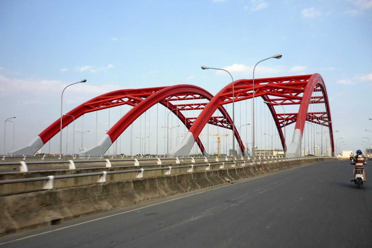 Ong Lon Bridge in Vietnam