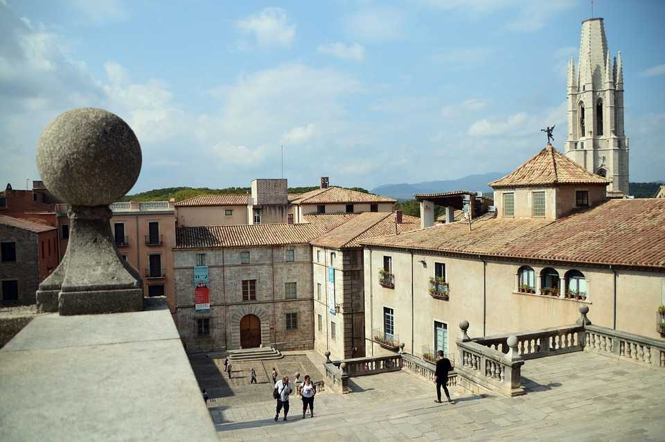 girona, old city, game of thrones set