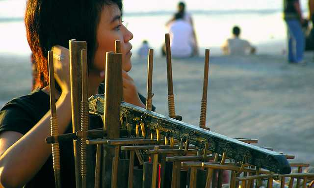 Angklung Musical instruments of Indonesia