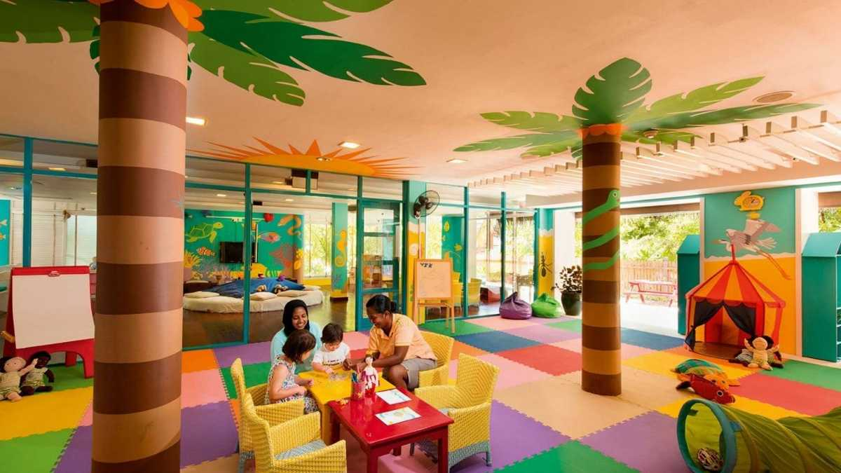 Accommodations in Maldives with Kids