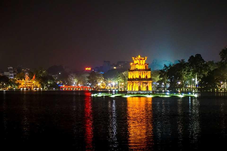 Hanoi City during Tet