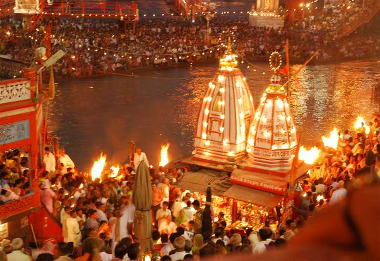 Ganga Aarti Haridwar | Ganga Aarti timings, photos, address