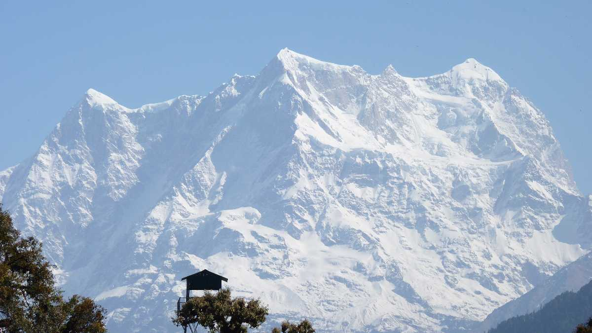Snow Peak in Chopta, Uttarakhand