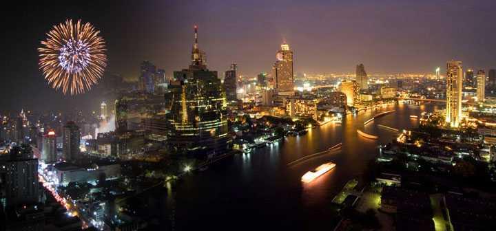 Bangkok Dinner Cruise Tours, Chao Phraya River