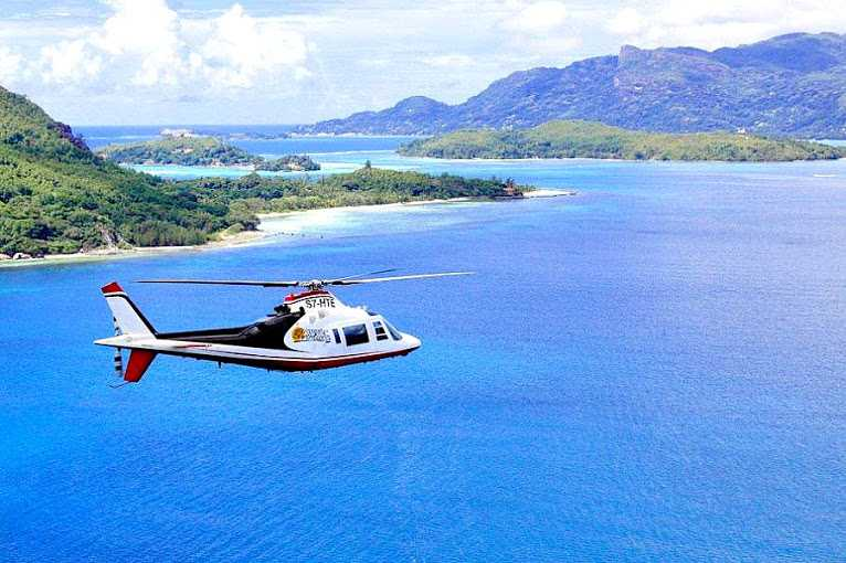 Helicopters, Commuting within Seychelles