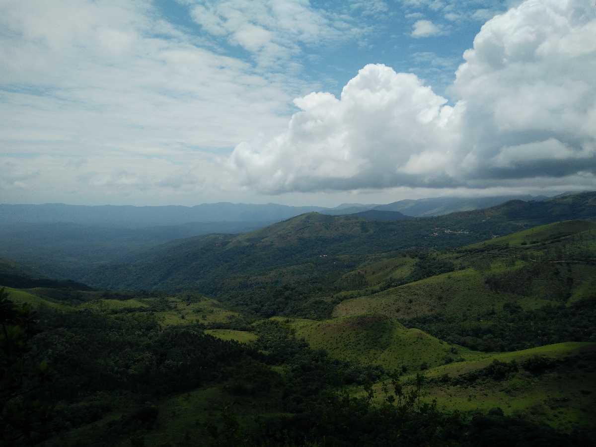 Landscape of Chikmagalur