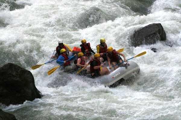 Rafting Near Pune