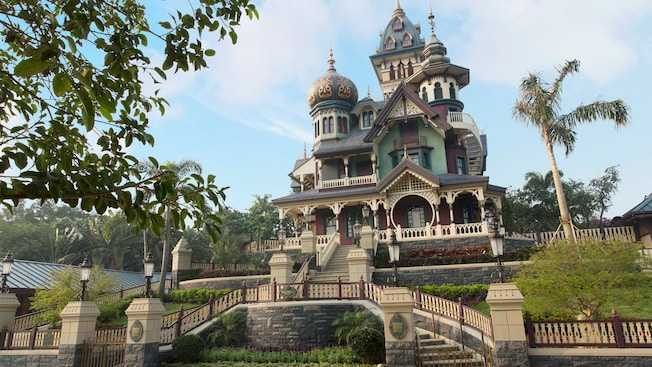 Mystic Manor at Hong Kong Disneyland