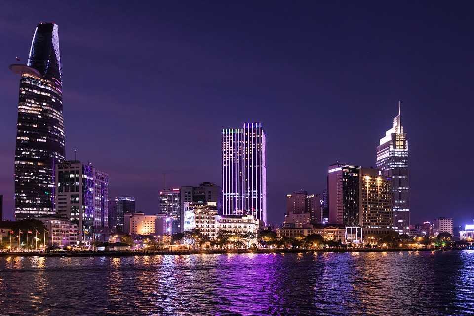 Saigon River Ho Chi Minh City Vietnam
