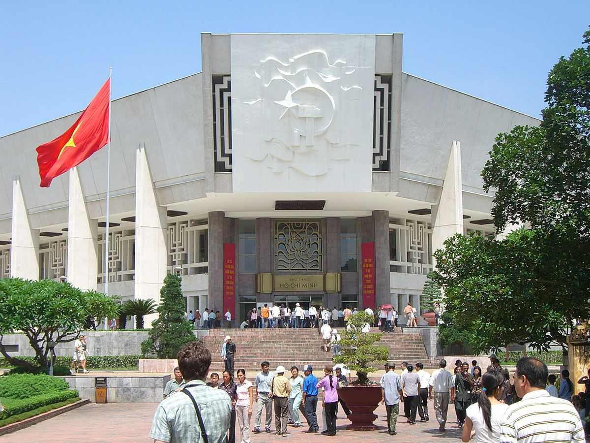 Ho Chi Minh City Museum in Vietnam