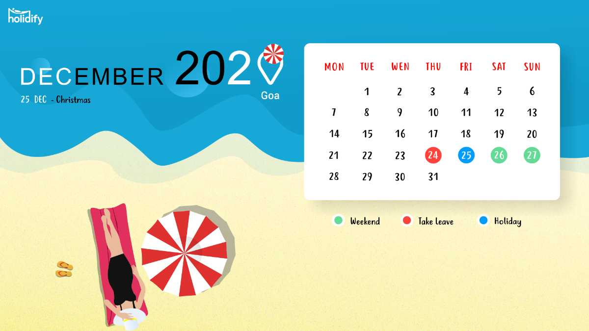 November Holiday Calendar