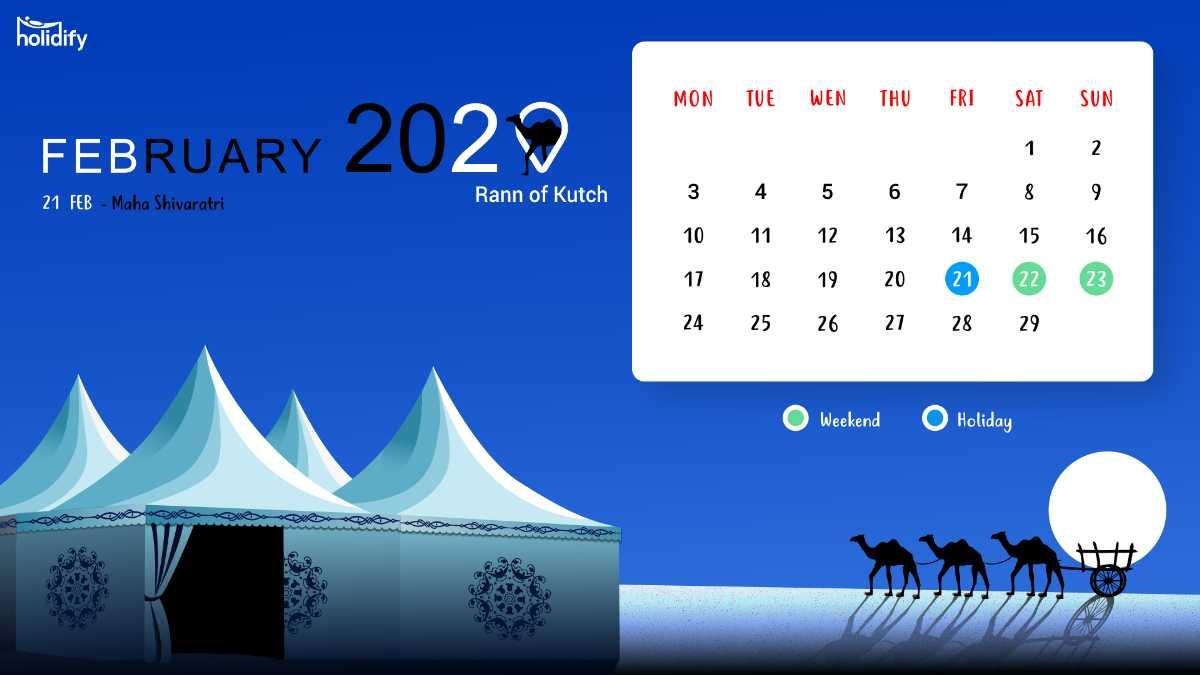 February Holiday Calendar
