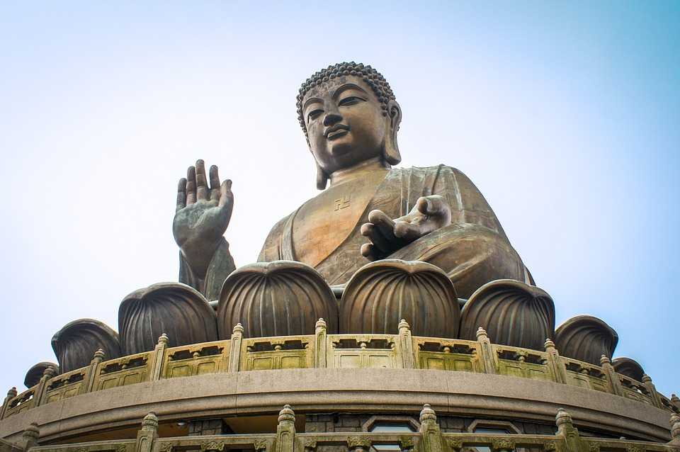 Buddha Statue at Lantau Island