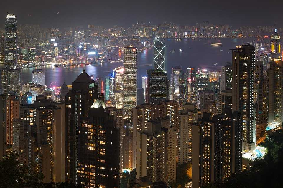 Victoria Peak View, Hong Kong