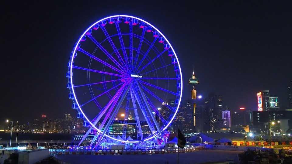 Hong Kong Observation Wheel View