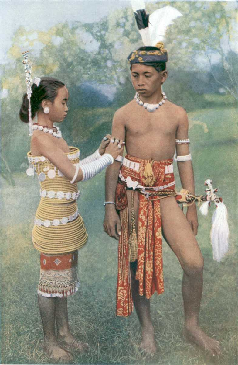 Iban Dresses, Traditional clothing in Malaysia