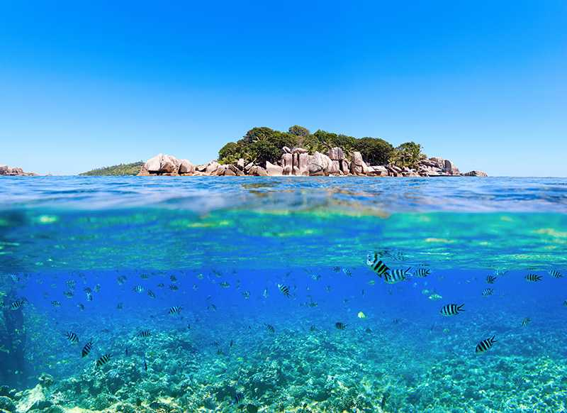 Ile Cocos, National Parks in Seychelles