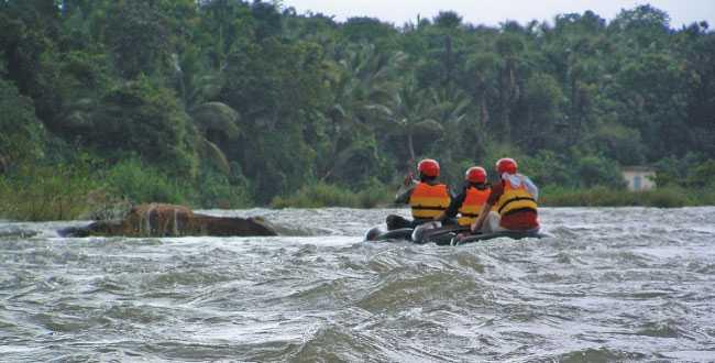 Rafting Near Bangalore, Kabini