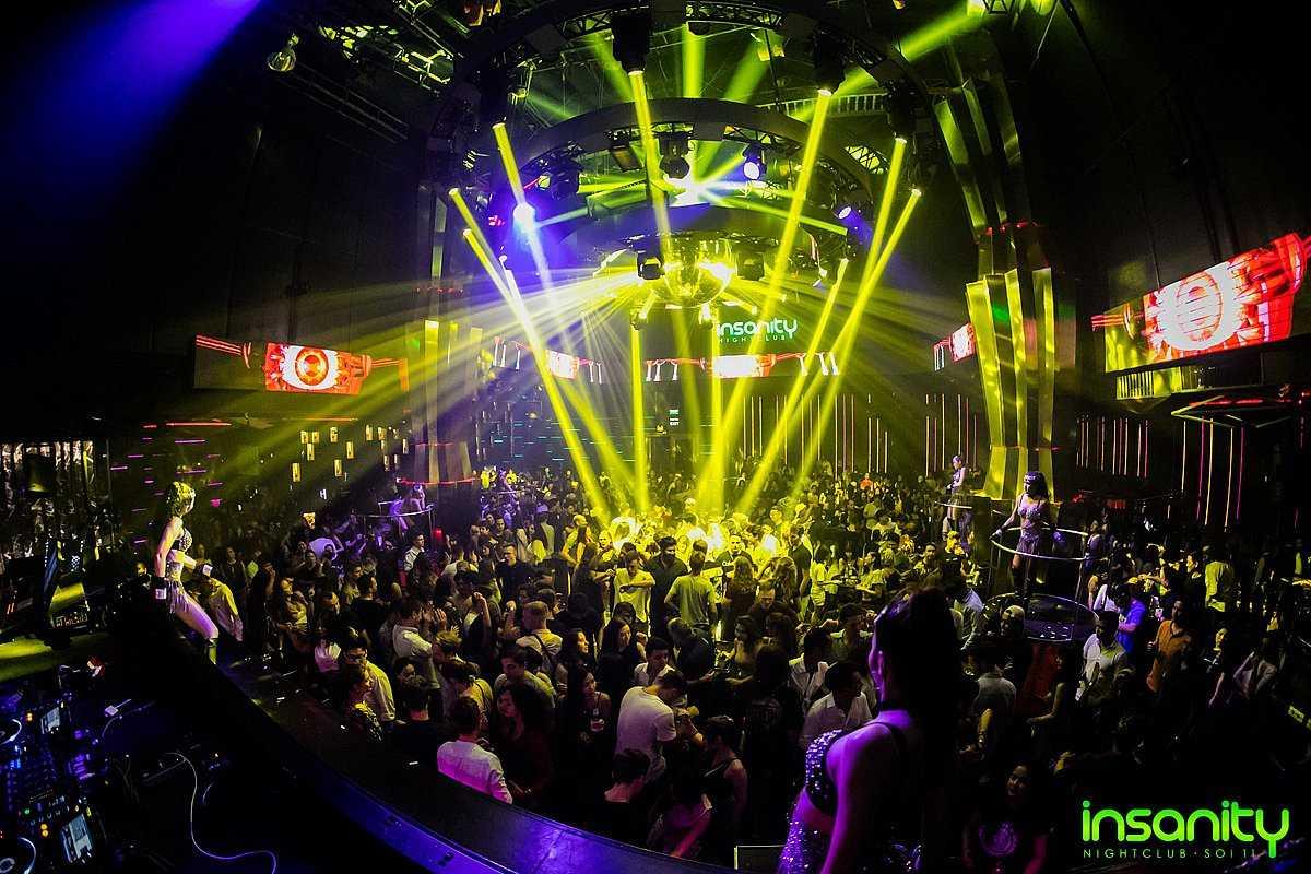 Insanity Nightclub, Bangkok
