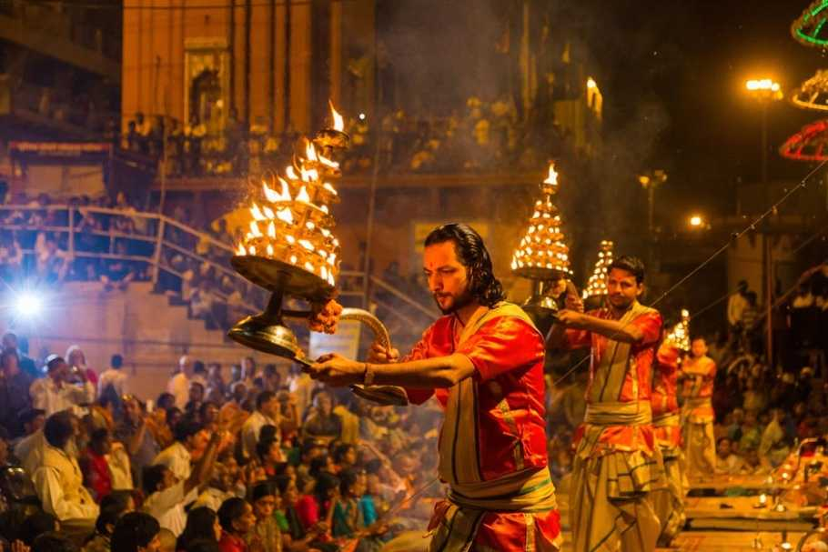 Image result for ganga aarti