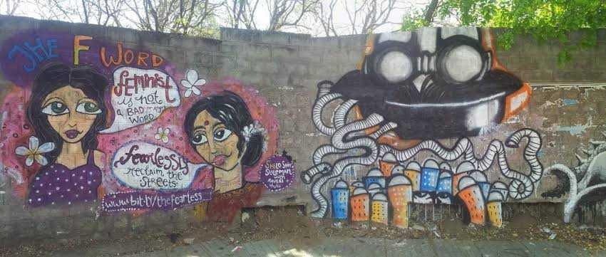 Bangalore's Street Art