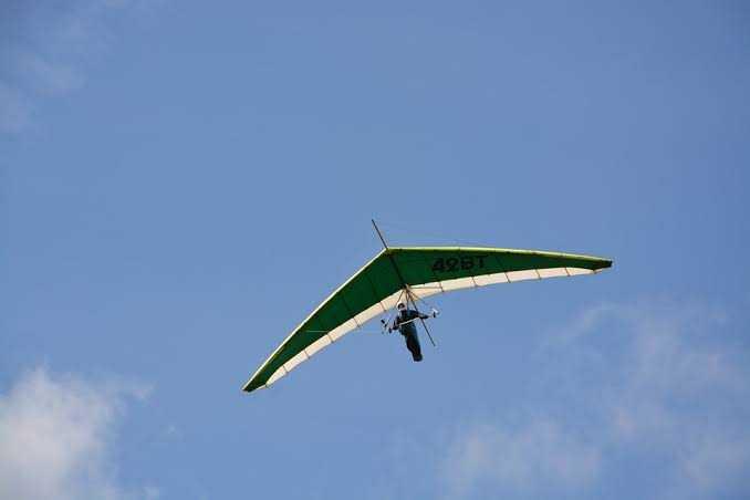 Hang-gliding in Mysore, Karnataka