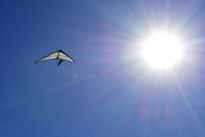 Hang-gliding in Delhi