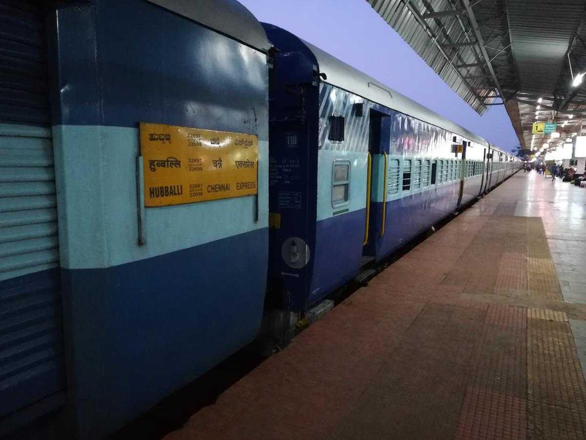 Chennai to Hampi by Train
