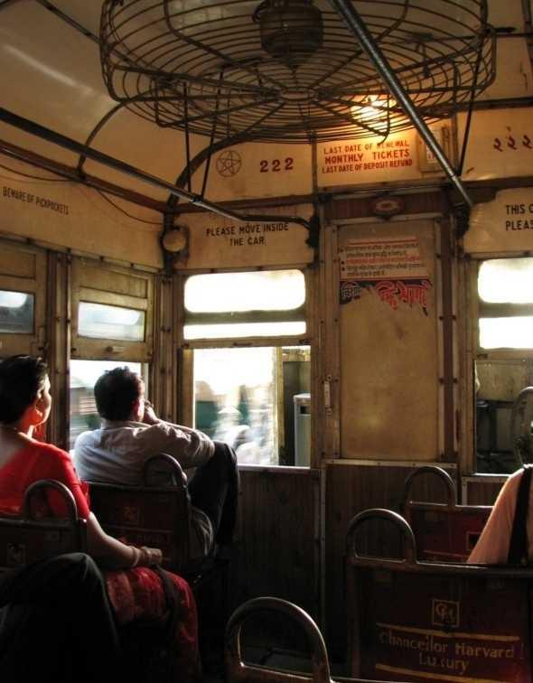 Inside Kolkata tram, Trams in Kolkata