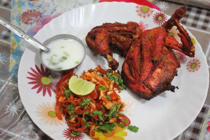 street food in varanasi, tandoori chicken nagpur
