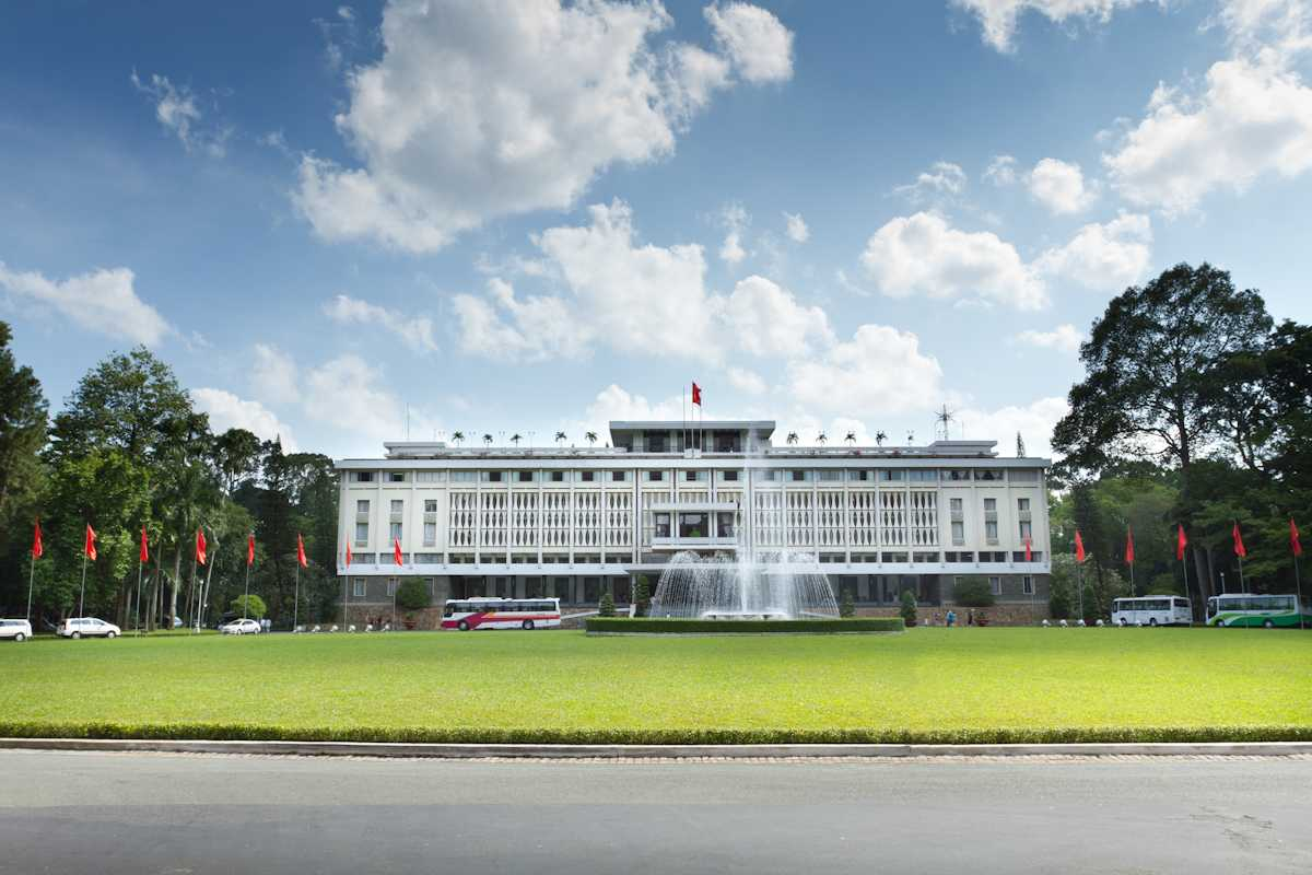 Reunification Palace, an important landmark and affordable place to visit in Ho Chi Minh City