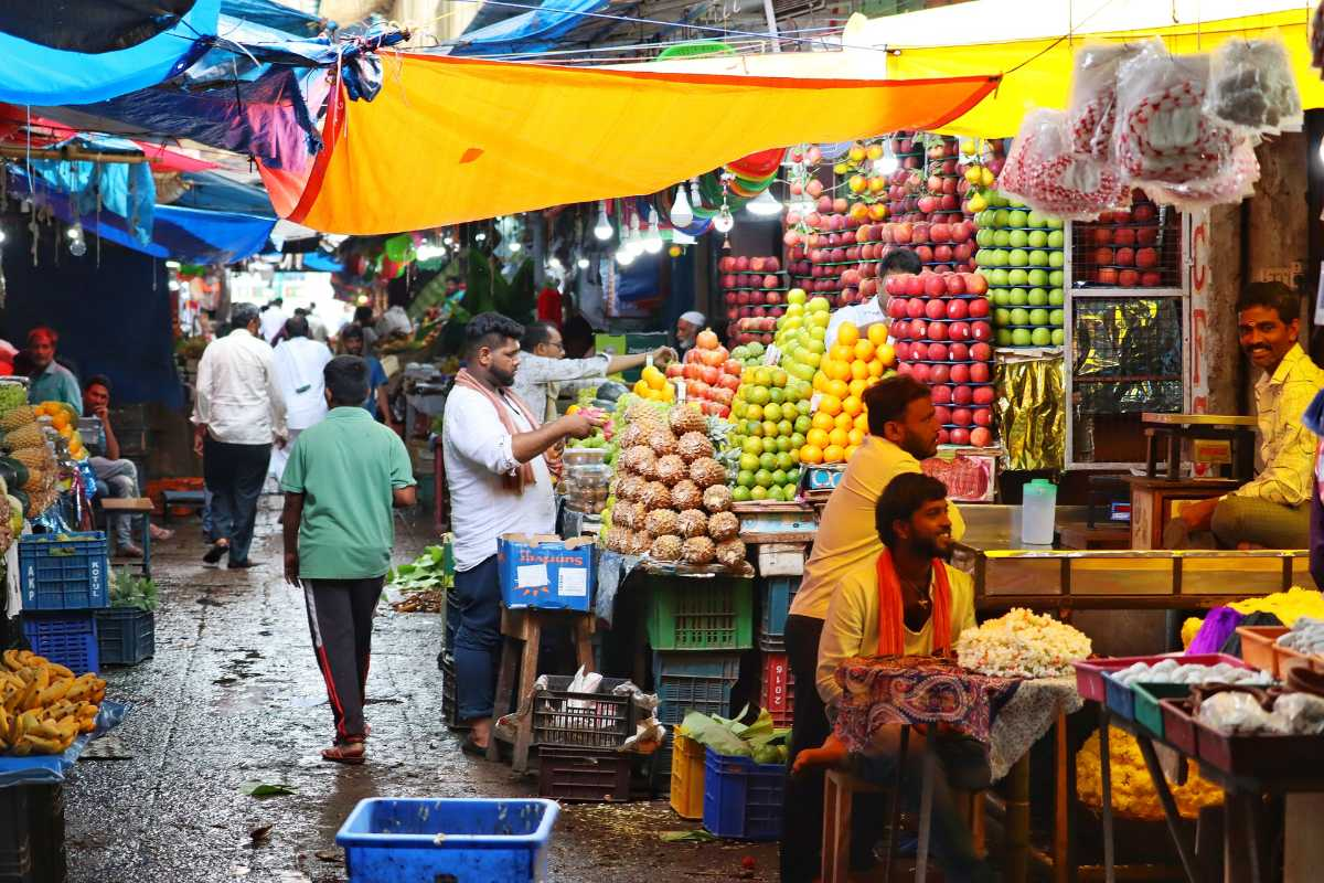 The Mahabaleshwar Vegetable And Fruit Market
