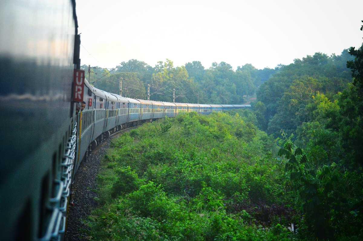 Train to Pondicherry