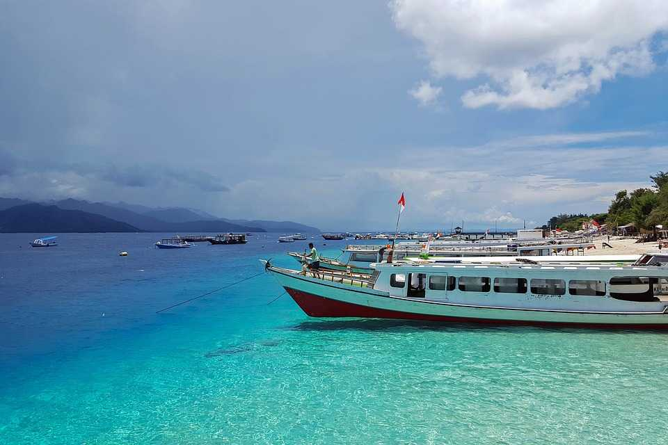 Gili Islands, Landscapes in Indonesia