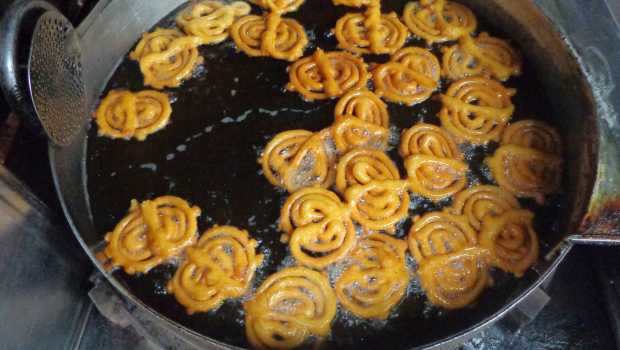 Street Food in Agra, Jalebi