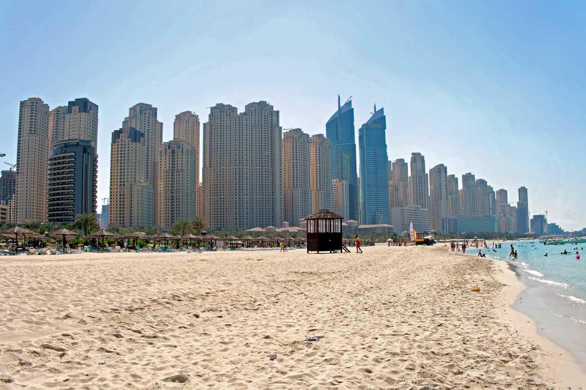 beaches in dubai, jbr