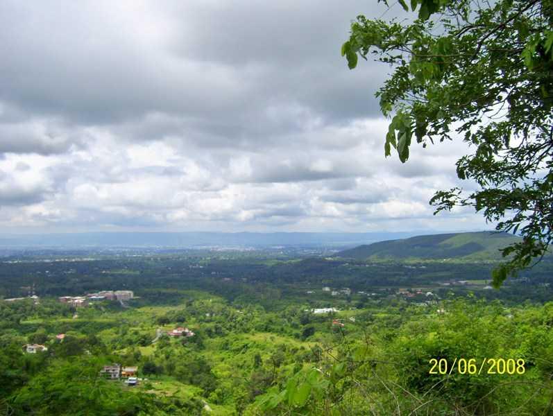 A cloudy view of Dehradun