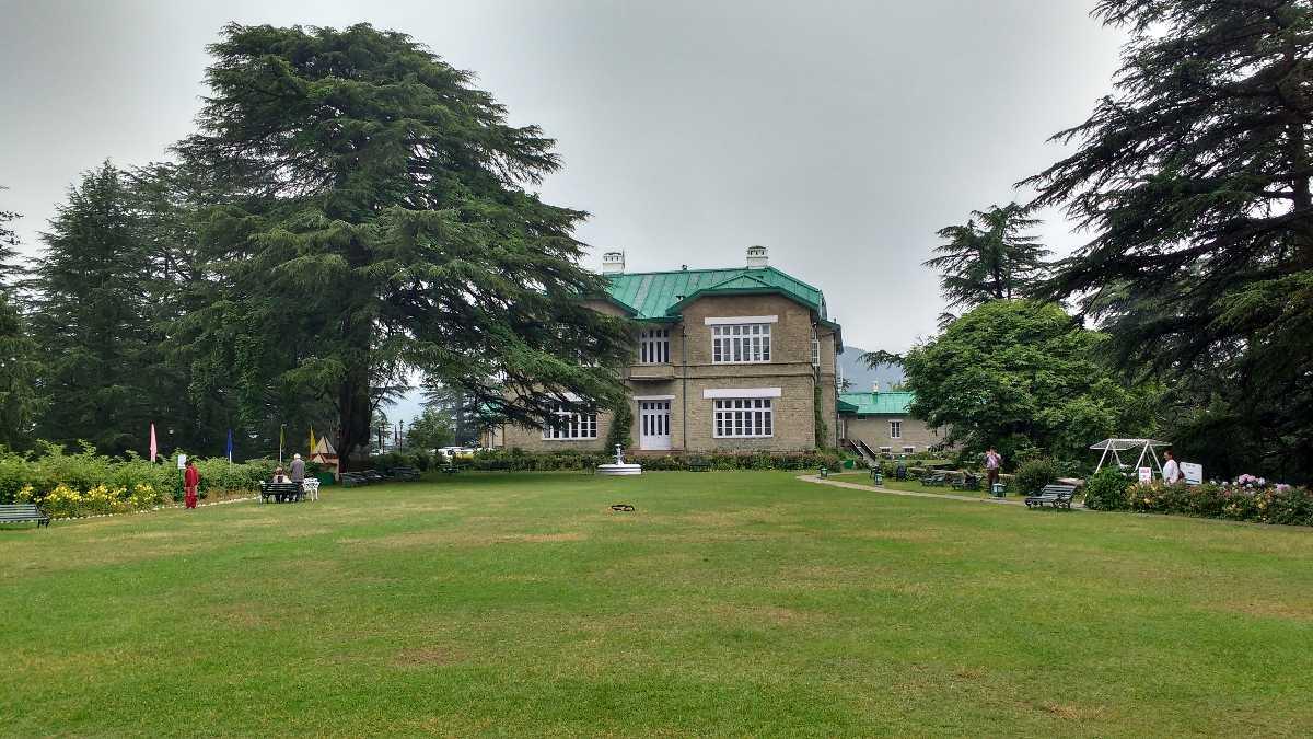 The palace at Chail near Shimla