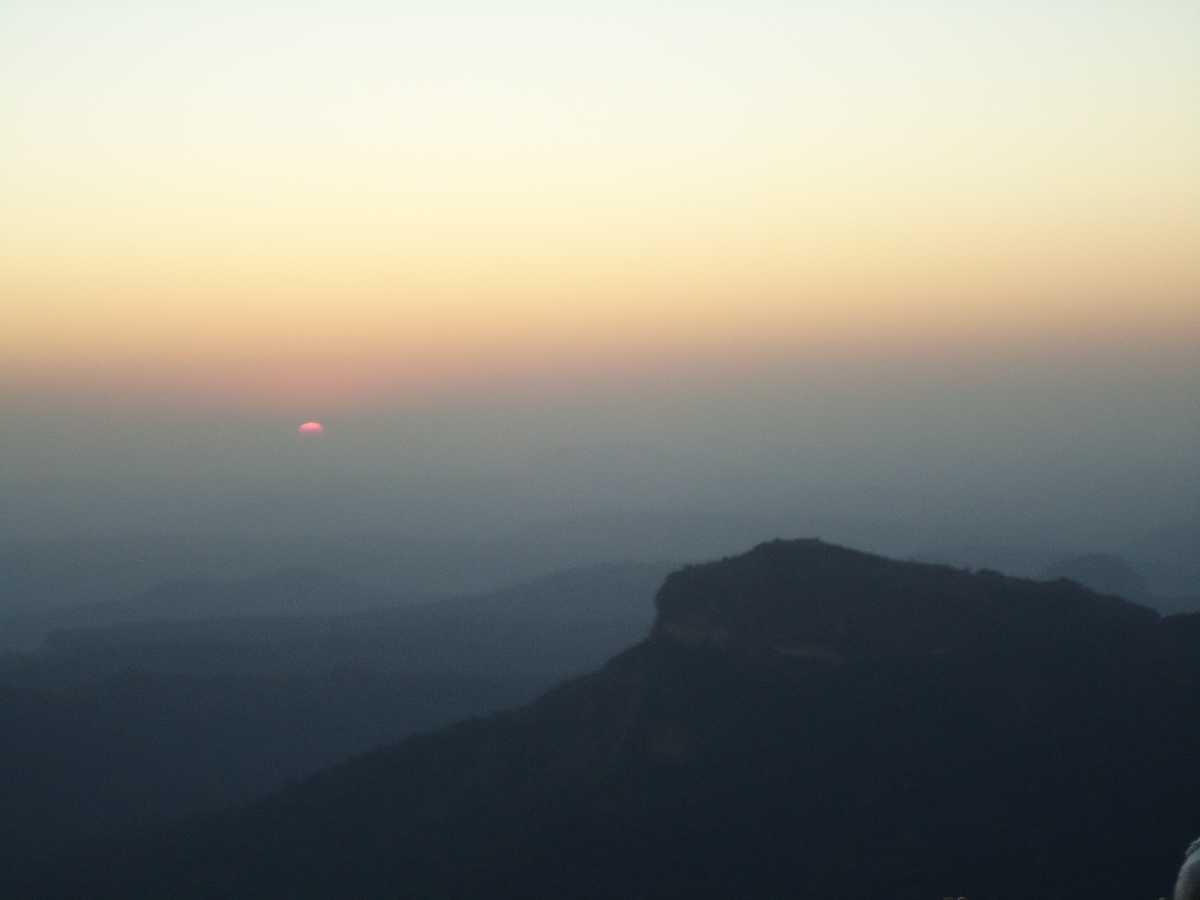 Sunset view from Dhupgarh, Madhya Pradesh