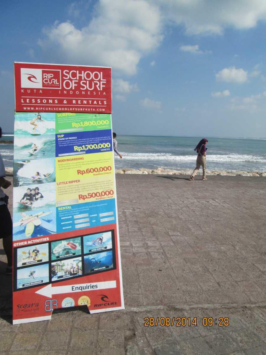 Kitesurfing School in Bali