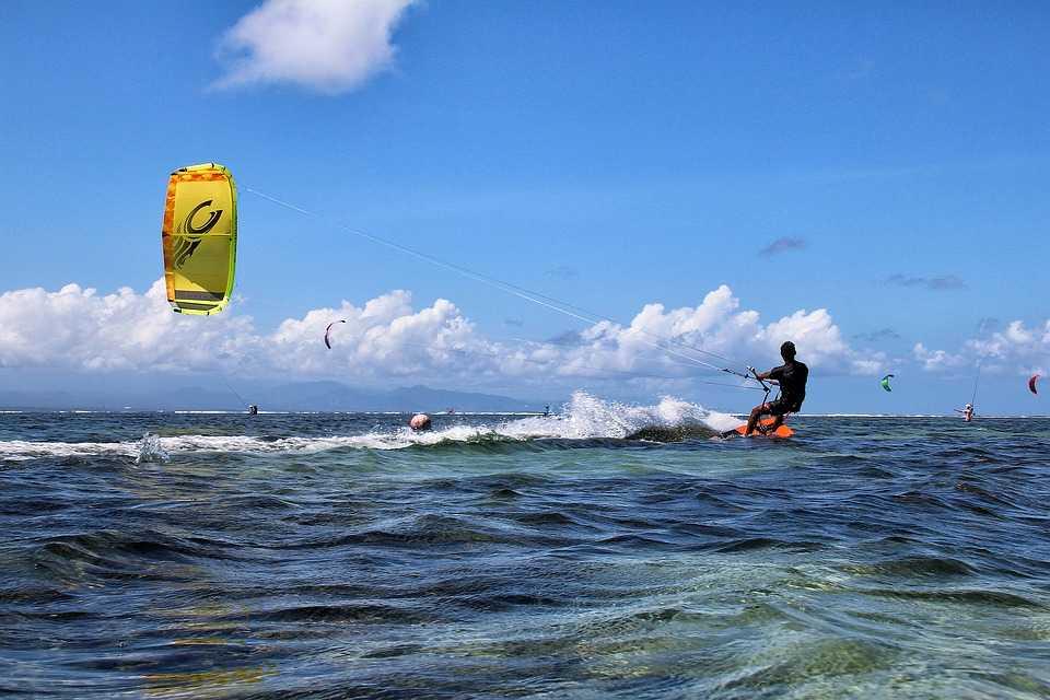 Sanur Beach, Kitesurfing In Bali